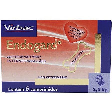 Endogard 2,5kg Caixa Com 6 Comprimidos