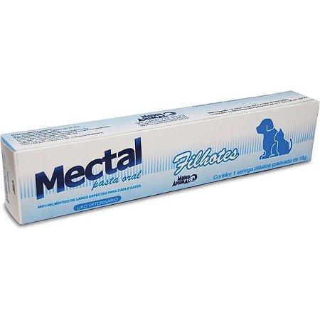 Mectal Pasta Oral Filhotes Seringa 15g