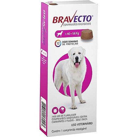 Bravecto Cães 1400mg 40-56kg