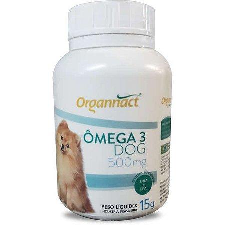 Omega 3 Dog Organnact 500mg Pote C/30