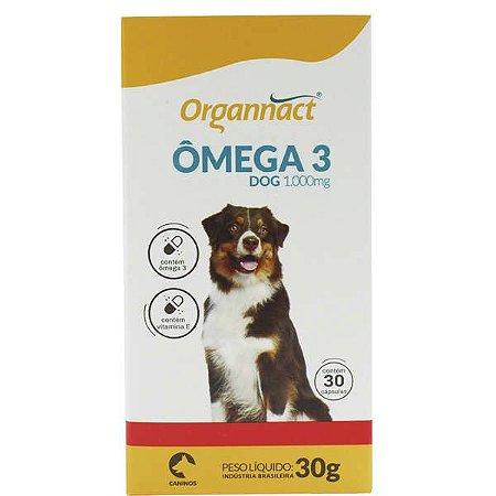 Omega 3 Dog Organnact 1000mg Caixa C/30