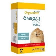 Omega 3 Dog Organnact 500mg Caixa C/30