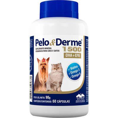 Pelo & Derme 1500mg C/60 Capsulas