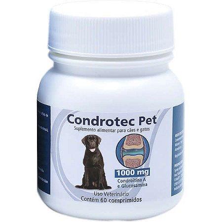 Condrotec Pet 1000mg C/60 Comprimidos