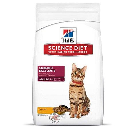Hill´s Adultos - Gatos Cuidado Excelente 1,5kg