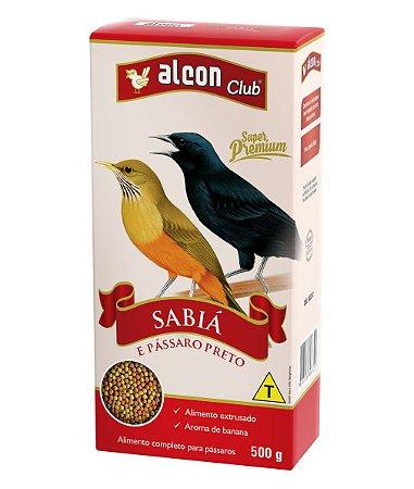 Alcon Club Sabia E Pássaro Preto 500g