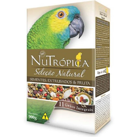 Nutrópica Papagaio Seleção Natural 900g