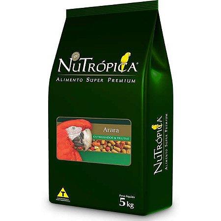 Nutrópica Arara C/Frutas 5kg