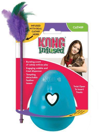 Brinquedo Kong Infused Tippin Treat