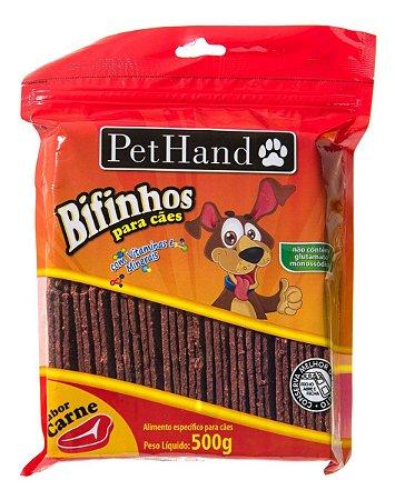 Bifinho Pethand Carne 500g