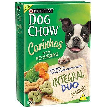Dog Chow Biscoitos Carinhos Duo 500g