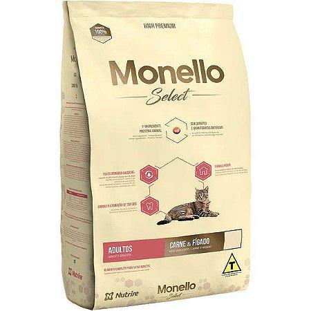 Monello Select Gatos Adultos - 7kg