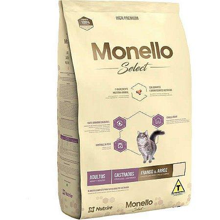 Monello Select Gatos Castrados 7kg
