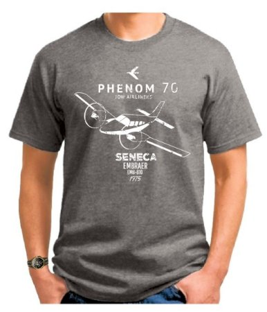 CAMISETA JOW DAS GALAXIAS CINZA MESCLA - #PHENOM70