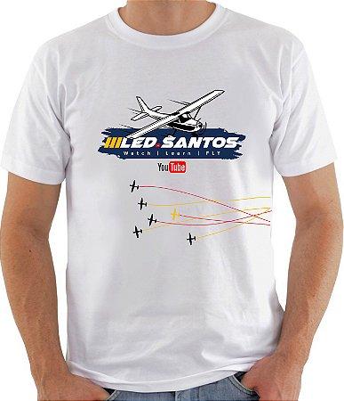 CAMISETA LED SANTOS #BRANCA