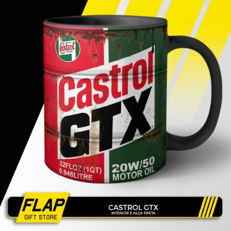 CANECA CASTROL GTX