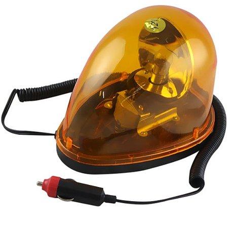 Luz de Emergência Giroflex Amarela 12v Oval Lee Tools-689502