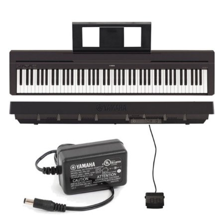 Piano Digital Yamaha Portatil P45 PRETO