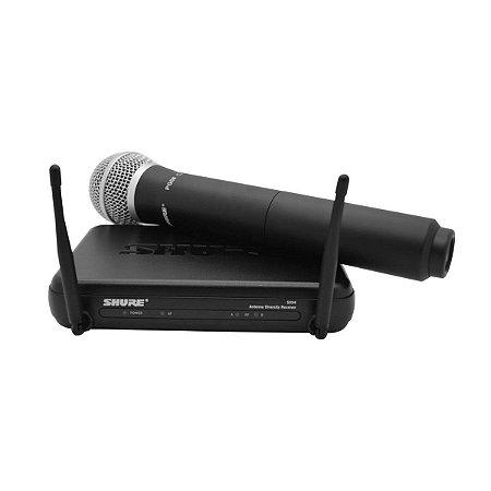 Microfone Sem Fio Shure SVX24BR/PG58-J9 / Mão