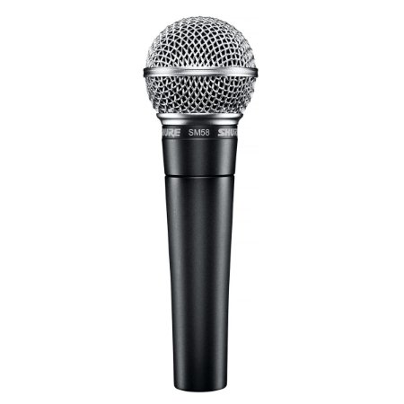 Microfone Com Fio Shure SM58-LC Original Nota Fiscal e Garantia de 02 Anos