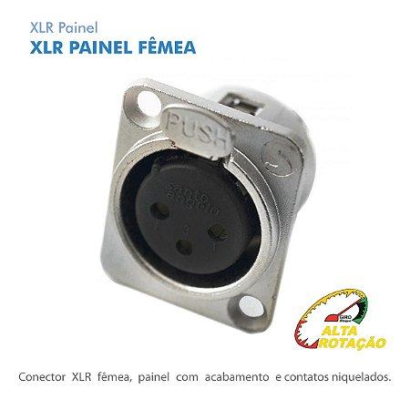 Xlr Santo Angelo Femea Painel Embutir P3FNN01