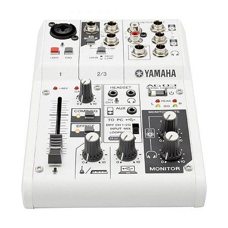 Mesa de Som Interface Yamaha AG03