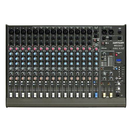 Mesa de Som Ciclotron AMBW 16 XDF 16 Canais Balanceados Efeitos USB