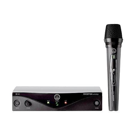 Microfone s/ Fio AKG PW Vocal Set B2 45 Bastão