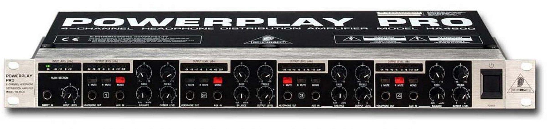 PowerPlay Behringer Pro XL HA4700