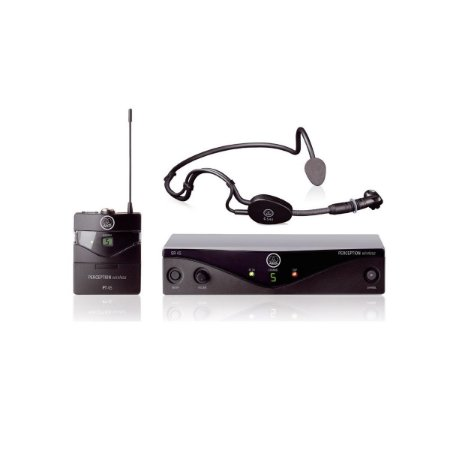 Microfone Sem Fio AKG Headset PW-45 Sports C-3 / AKG PW45 Sports C3