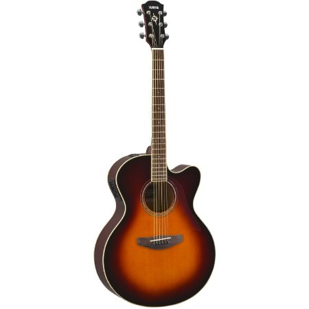 Violão Elétrico Yamaha CPX600 / Old Violin Burst / Jumbo