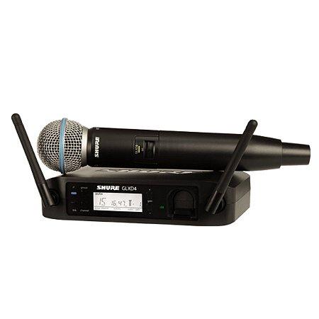 Microfone Sem Fio Shure GLXD24BR/SM58-Z2
