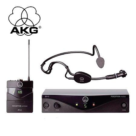 Microfone s/ Fio AKG PW SPORT SET A 45 Auricular