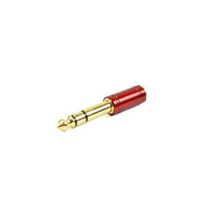Plug Adaptador P10 X P2 ST VM Santo Angelo Vermelho