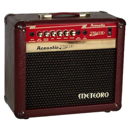 Caixa Cubo Ampli Meteoro Acoustic V40 Violao 40W