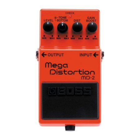 Pedal Boss MD-2 Mega Distortion para Guitarra