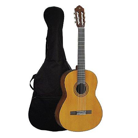 Violao Yamaha C45 II Acustico Nylon Natural + capa