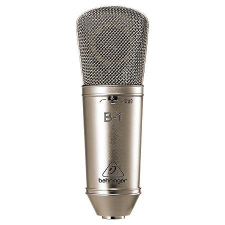 Microfone Behringer B-1 PRO para Gravação em Estúdio / Condensador