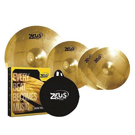 Kit De Pratos Zeus Beginner Set C 13/16/20