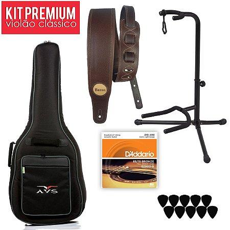 Kit Premium para Violão Clássico