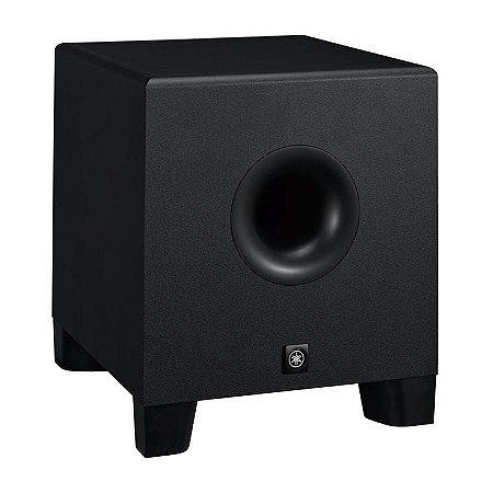 Monitor Yamaha Sub HS8S Ativo 150W Preto