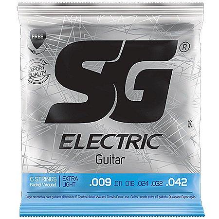 Encordoamento SG Guitarra 009 SG5145 Niquel