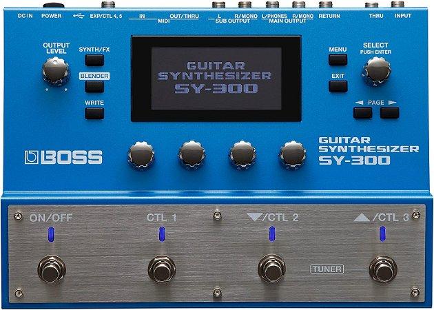 Pedal Boss SY-300 Sintetizador de Guitarra