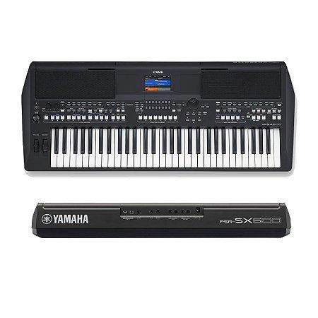 Teclado Yamaha PSR-SX600 Arranjador 5/8