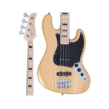 Baixo Strinberg JBS-50 NA Jazz Bass Natural 4 Cordas Passivo
