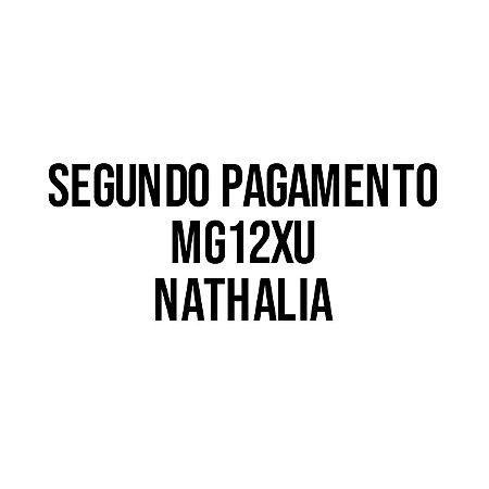 Segundo pagamento MG12XU - Nathalia