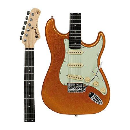 Guitarra Tagima Woodstock TG-500 Dourado Metalico