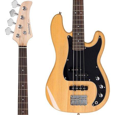 Baixo Strinberg PBS-50 NA Precision Bass Natural 4 Cordas Passivo
