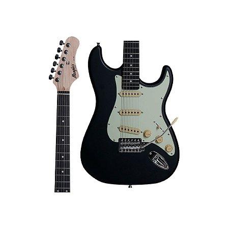 Guitarra Memphis by Tagima MG-30 BKS Preto Fosco MG30