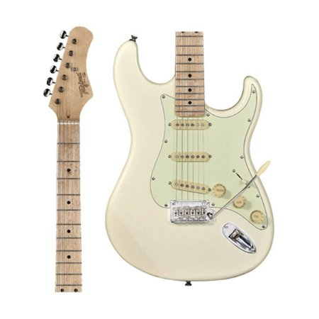 Guitarra Tagima Classic T-635 OWH Branca Escala Clara Escudo Claro T635